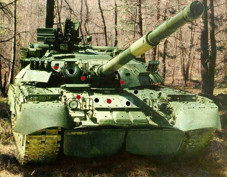 苏联T-80主战坦克
